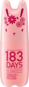 Cool, frech & unique – die neue Serie von 183 DAYS porefilter mattifying base spray