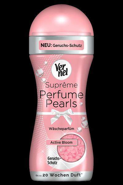 Neu: Vernel Suprême Perfume Pearls mit Geruchsschutz Active Bloom