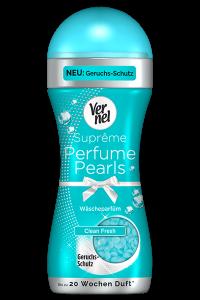 Neu: Vernel Suprême Perfume Pearls mit Geruchsschutz Clean Fresh