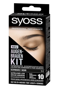 SYOSS AUGENBRAUEN KIT: Ausdrucksstarke Augenbrauen im Handumdrehen! Schwarz