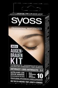 SYOSS AUGENBRAUEN KIT: Ausdrucksstarke Augenbrauen im Handumdrehen! Anthrazit