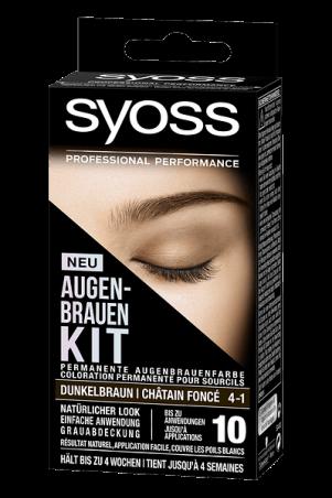 SYOSS AUGENBRAUEN KIT: Ausdrucksstarke Augenbrauen im Handumdrehen! dunkelbraun