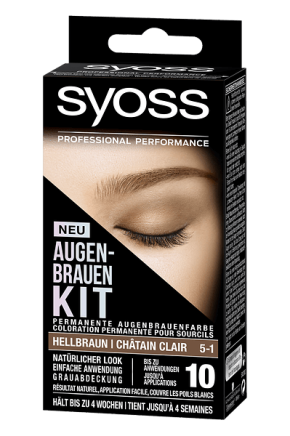 SYOSS AUGENBRAUEN KIT: Ausdrucksstarke Augenbrauen imHandumdrehen!