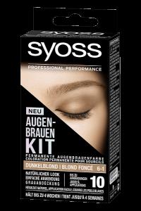 SYOSS AUGENBRAUEN KIT: Ausdrucksstarke Augenbrauen im Handumdrehen! Dunkelblond
