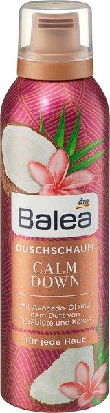 Was für ein (Bade)Vergnügen! - Erholsame Wellness-Momente mit den Badezusätzen von Balea duschschaum calm down