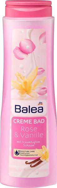 Was für ein (Bade)Vergnügen! - Erholsame Wellness-Momente mit den Badezusätzen von Balea cremebad rose vanille