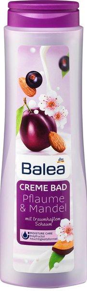 Was für ein (Bade)Vergnügen! - Erholsame Wellness-Momente mit den Badezusätzen von Balea Cremebad pflaume mandel