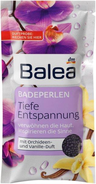 Was für ein (Bade)Vergnügen! - Erholsame Wellness-Momente mit den Badezusätzen von Balea badeperlen tiefe entspannung
