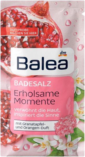 Was für ein (Bade)Vergnügen! - Erholsame Wellness-Momente mit den Badezusätzen von Balea badesalz erholsame momente