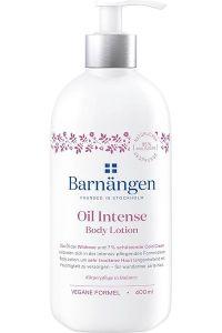 Reichhaltige Körperpflege in Balance und rosige Zeiten mit der neuen Pflegeserie Barnängen Oil Intense Body Lotion