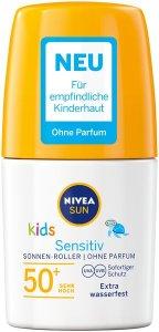 Das Sommergefühl mit den neuen von NIVEA SUN Kids Sensitiv Schutz Pflege Roller LSF 50 Plus