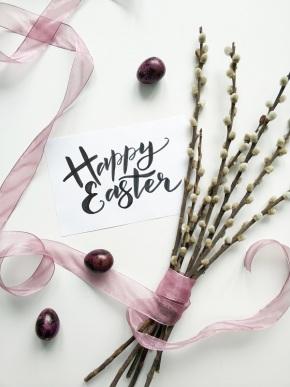Mal wieder Karten zu Osternschreiben