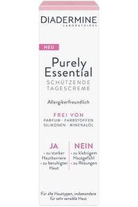 Ja zu einfach schöner Haut. Mit nur dem Essentiellen: Diadermine Purely Essential Tagescreme