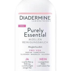 Ja zu einfach schöner Haut. Mit nur dem Essentiellen: Diadermine PurelyEssential