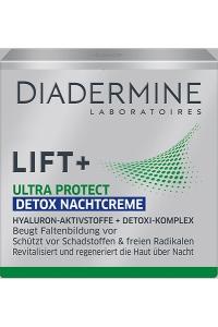 Die Schutzbrille für die Haut: Diadermine Lift+ Ultra Protect Nachtpflege Ultra Protect detox nachtcreme