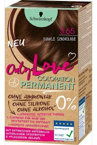 Only Color, Only Beauty: Only Love – die neue Coloration von Schwarzkopf Dunkle Schokolade