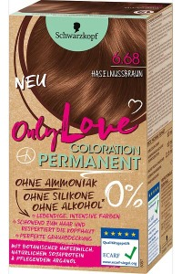 Only Color, Only Beauty: Only Love – die neue Coloration von Schwarzkopf Haselnussbraun