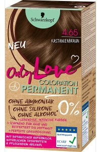 Only Color, Only Beauty: Only Love – die neue Coloration von Schwarzkopf Kastanienbraun