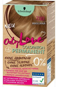 Only Color, Only Beauty: Only Love – die neue Coloration von Schwarzkopf Mandelbraun