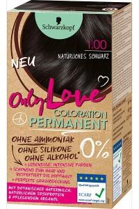 Only Color, Only Beauty: Only Love – die neue Coloration von Schwarzkopf Natürliches Schwarz