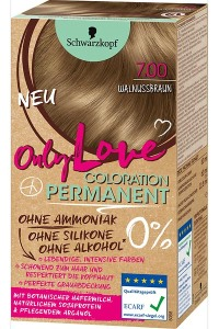 Only Color, Only Beauty: Only Love – die neue Coloration von Schwarzkopf Walnussbraun