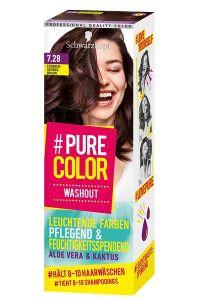 Erdbeer Schokobraun #Pure Color Washout – für einen leuchtenden Farbtwist zum Auswaschen
