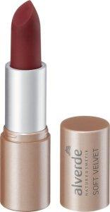 Zarte Frühlings- und Sommer-Make-ups für Naturschönheiten soft velvet lippenstift alverde