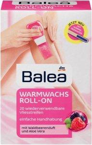 """Ganz einfach """"haarfrei"""" in den Sommer starten balea warmwachs roll on"""