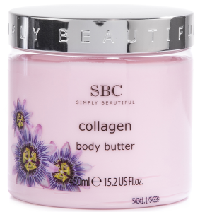 SBC steht für Simply Beautiful Collection SBC Collagen Körperbutter 450ml