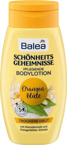Schönheitsgeheimnisse Bodylotions von Balea Pflegende Bodylotion Orangenblüte