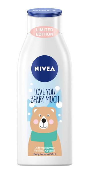 Mit Nivea gepflegt in den Winter starten Love you beary much