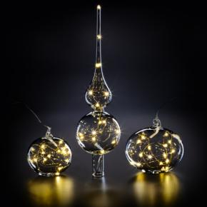 Weihnachtsdekoration aus traditioneller Handwerkskunst mit KRINNER's Christbaumkrönung