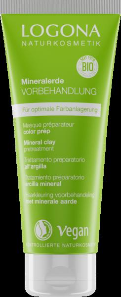 LOGONA Pflanzen-Haarfarben als Creme oder Pulver zum Anrühren Mineralerde Vorbehandlung