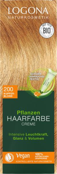 LOGONA Pflanzen-Haarfarben als Creme oder Pulver zum Anrühren