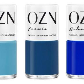 Blaues für die Nägel: OZN DON'T FEEL BLUESET