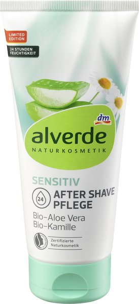 sensitiv after shave pflege bio aloe vera bio kamille