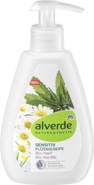 alverde NATURKOSMETIK: Pflege für die Mimose unter den Hauttypen - die empfindliche und sehr empfindliche Haut sensitiv flüssigseife